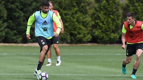 Costa được HLV Conte khẳng định tương lai ở Chelsea