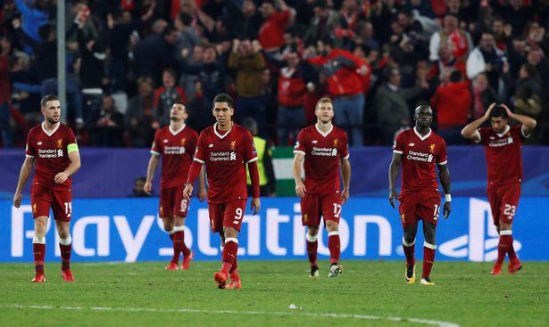 Sevilla 3-3 Liverpool nhục nhã để bị gỡ hòa
