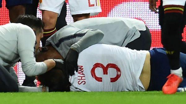 Shaw gặp chấn thương ở đầu