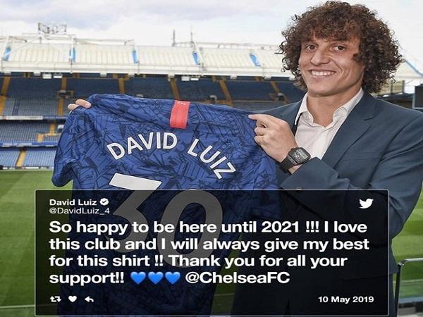David Luiz tuyên bố lý do rời Chelsea