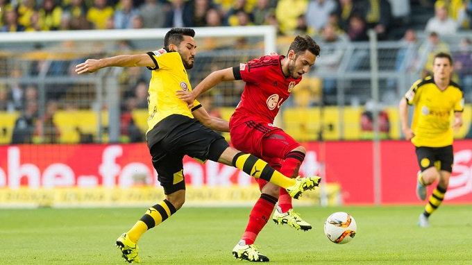 Dortmund vs Bayer Leverkusen 20h30 ngày 14/09/2019