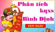Phân tích kqxs Bình Định 8/7/2021